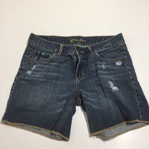 Guess Bermuda jean shorts